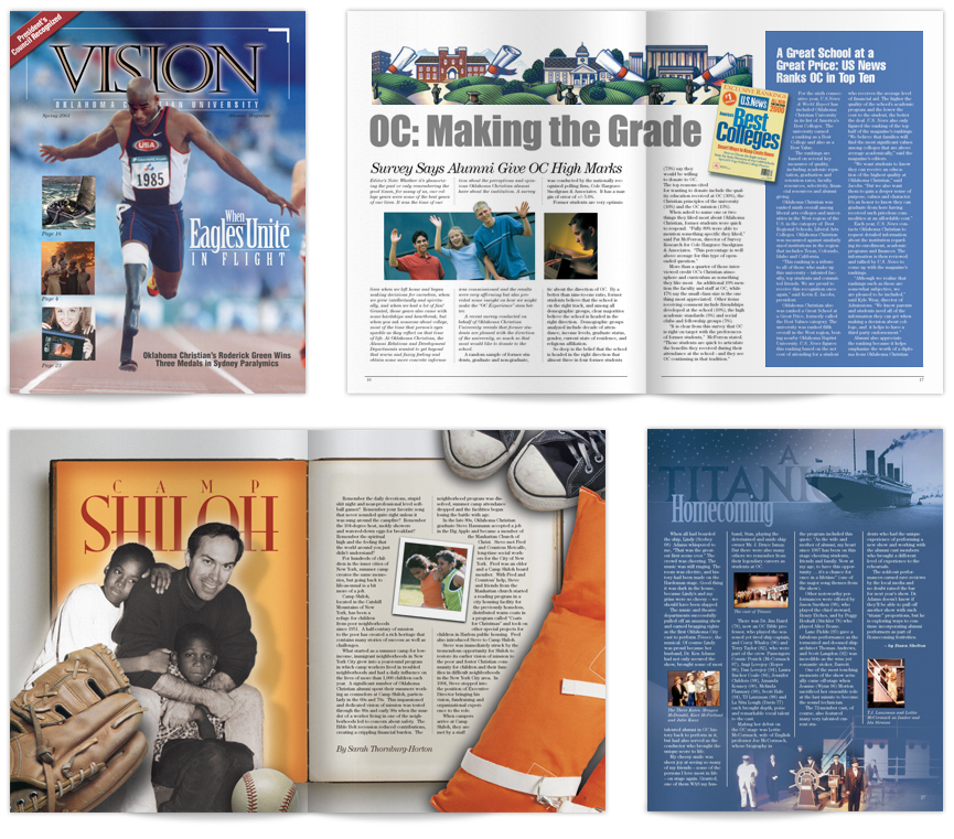 Oklahoma Christian University: VISION Magazine